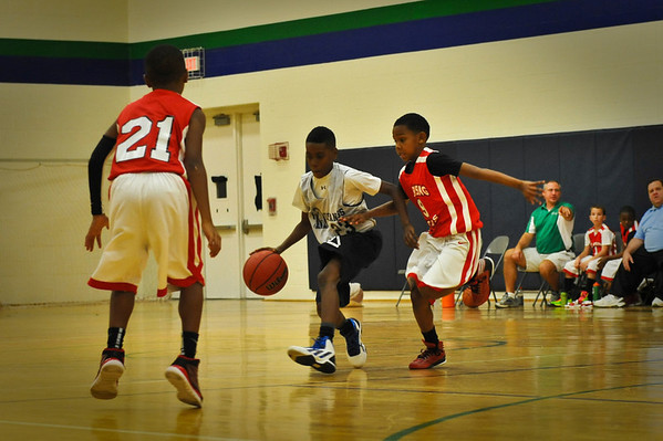Jr. Mustangs Basketball 5th Grade 12/23/12