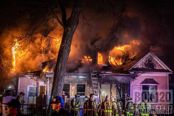 2-11 Dwelling Fire, San Antonio, TX - 500 E. Grason 02/02/2019