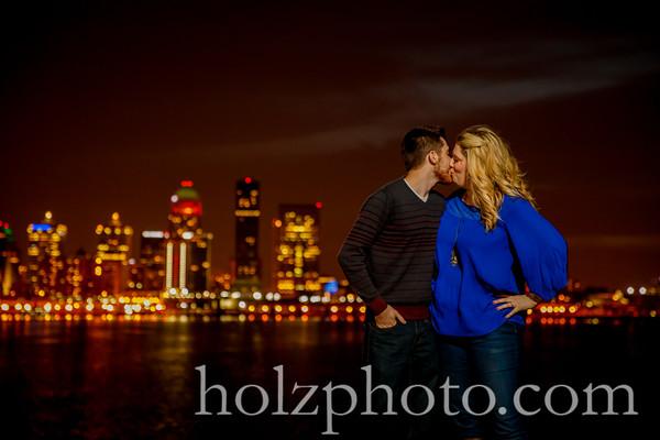 Sarah & Craig Color Engagement Photos