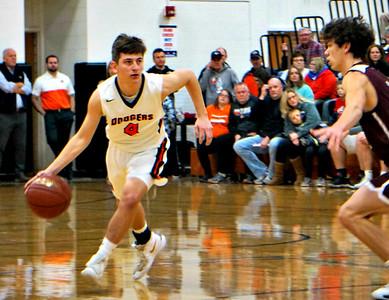 Prairie @ Dodgeville Boys Basketball 1-16-20