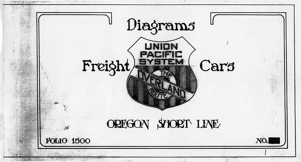 Union Pacific Equipment Diagrams