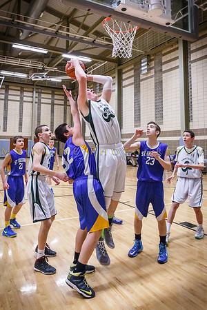 2015    8th grade Boys Basketball