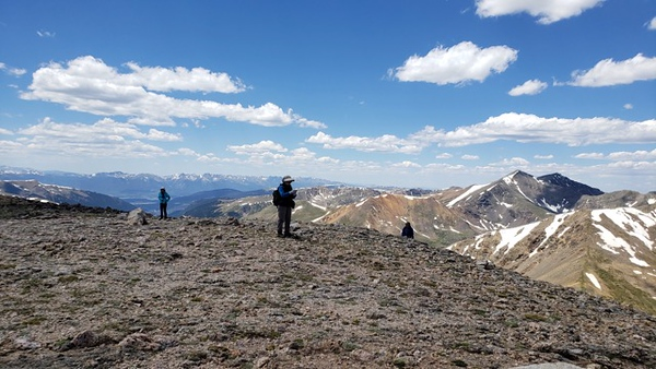 Square Top Mountain July 8, 2020