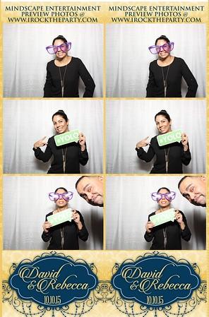 Rebecca & David Poull's Wedding - Photo Booth