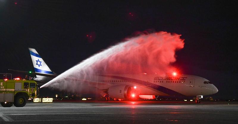 2018 Dreamliner 787 Inaugural Flight JFK to TLV
