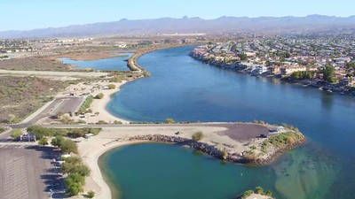 Laughlin, Nevada in early Winter