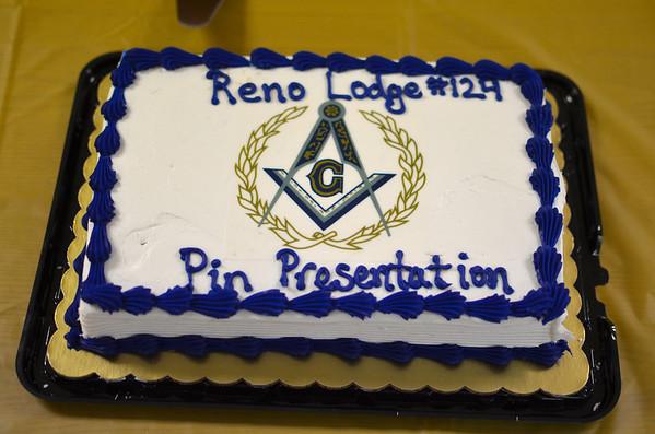 Masonic Lodge 50 & 60 Year Pinning Ceremony