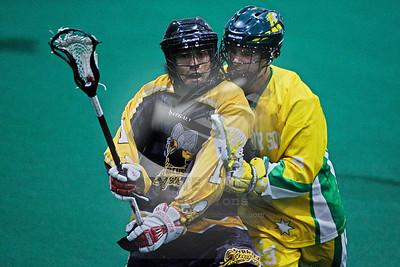 9/14/2015 - Australian National Team vs. Syracuse Stingers - World Indoor Lacrosse Championship Exhibition Game - Tsha'Hon'nonyen'dakhwa' , Onondaga Nation Territory (Onondaga Nation Arena, Nedrow, NY)