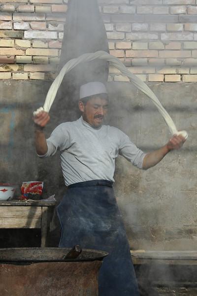 Uighur Food, Xinjiang Province in China