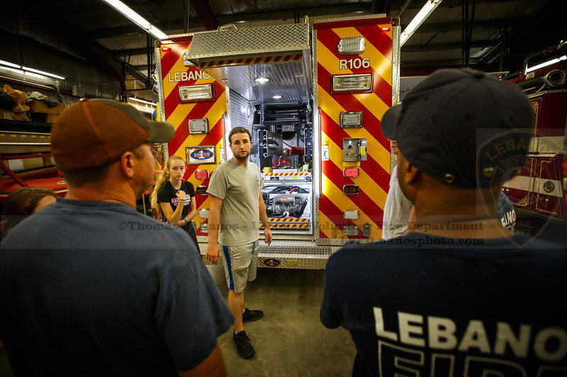 Lebanon Volunteer Fire Department Work Night