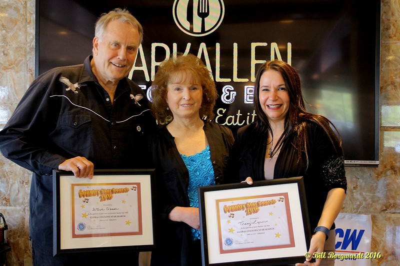 Maryanne Gibson with Steve Gosse & Tracy Lynn - 30+ Runners Up (tie)  - Star Search 2016 317