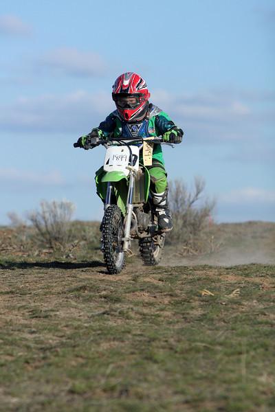2009 Desert 100 Kids Race #2- Green Bikes