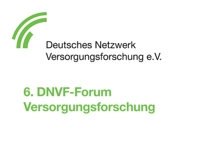 6. DNVF-Forum Versorgungsforschung