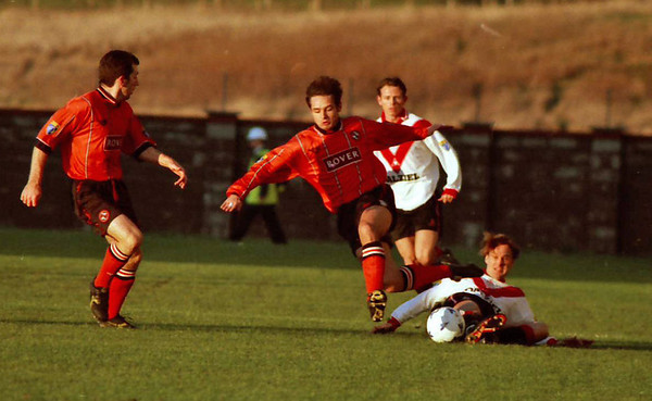Airdrie v Dundee United 25 11 95