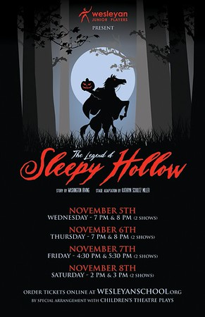 2008 - 2009 Wesleyan Middle School Play - Sleepy Hollow