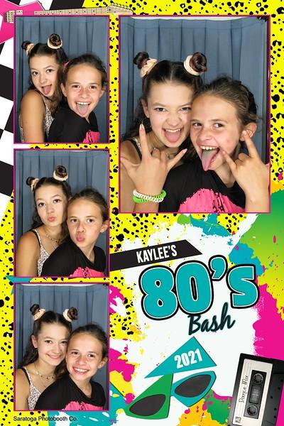 Kaylee's 80s Bash
