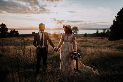 Boho Wedding | Kari and Pedram | Seattle Wedding Photographer