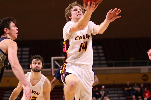 Calvin Men's Basketball vs Trine - 1/18/20