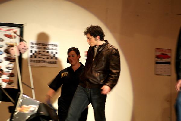 Josh Lambert in Grease!