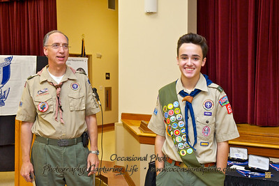Troop 62 Eagle Court of Honor, November 14, 2011