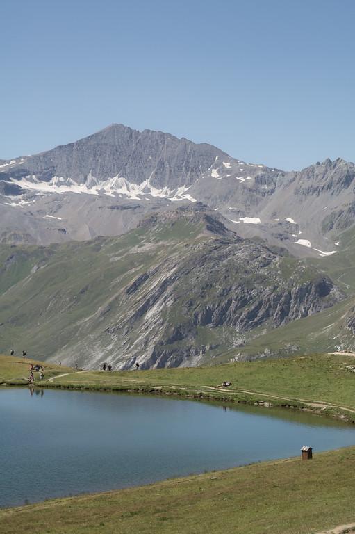 Lac de L'Ouilette Val d'Isère