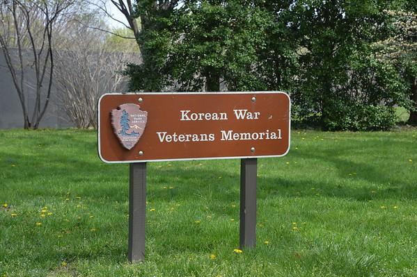 Korean War Memorial April