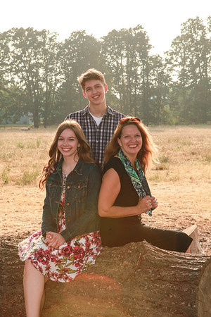 Robertson family August 2018