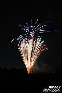 Church Fireworks July 4