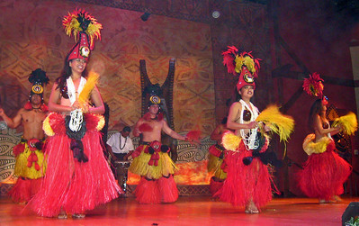 Orlando Sea World Luau