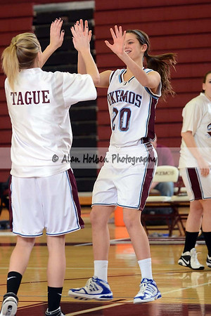 Girls Varsity Basketball - Everett at Okemos - Feb 22