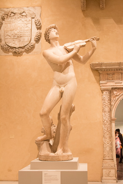 Orpheus statue by Cristoforo Stati, late 16th or early 17th century -- Metropolitan Museum of Art, New York
