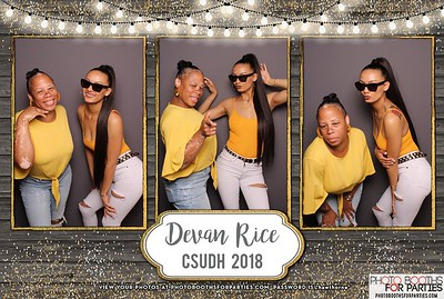 Devan Rice's Graduation Party 2018