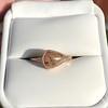 1.86ct Rustic Rose Cut Diamond Bezel Ring 1