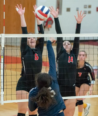 Yorkville vs. Oswego East Volleyball - Sept. 10, 2018