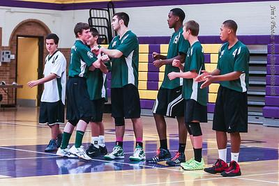 Madison Memorial Boys Volleyball - Oct 24, 2013
