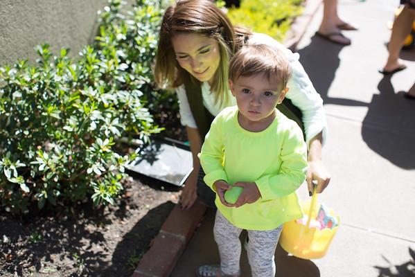 Aiyla's Easter Egg Hunt