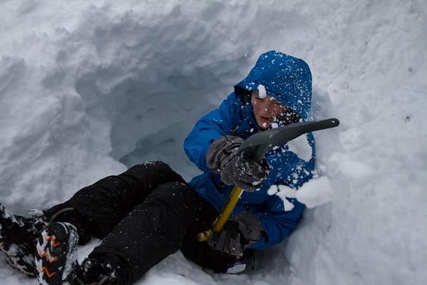 02-11 ASWWU Outdoors Snow Camping