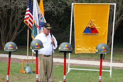 """2017 10 14 3rd Armored Division """"Spearhead"""" Monument Groundbreaking Ceremony"""