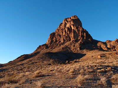 Mopah Point with the Trona Fire Pit Company  1.20.13