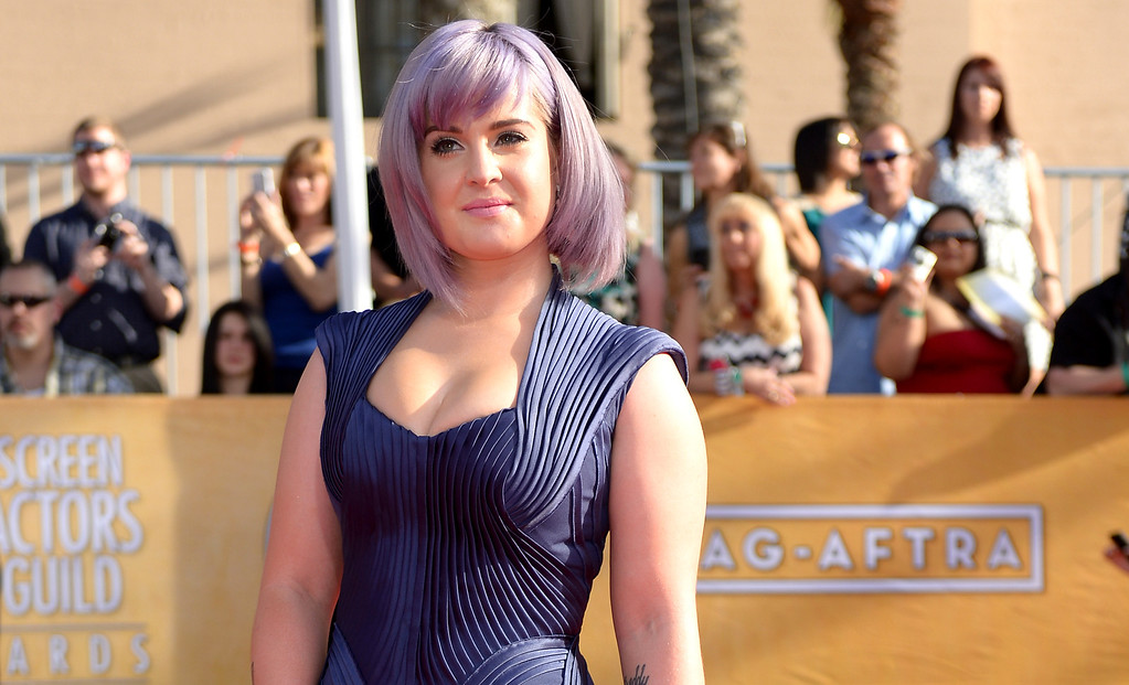 . Kelly Osbourne arrives at the 20th Annual Screen Actors Guild Awards  at the Shrine Auditorium in Los Angeles, California on Saturday January 18, 2014 (Photo by Michael Owen Baker / Los Angeles Daily News)