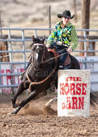 Saturday Barrels- Riders 1-15