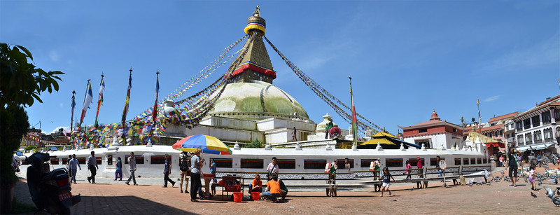 Free rabies vaccination at the Stupa
