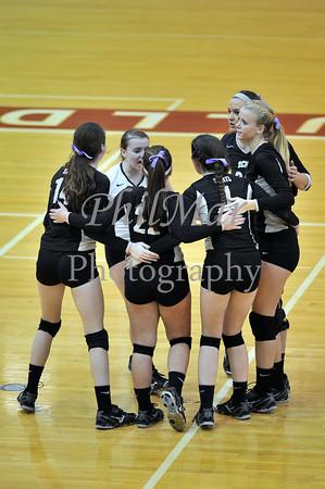 Berks Catholic vs Delone Catholic Girls Volleyball 2013 - 2014