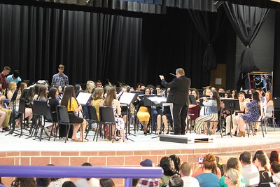 Center High Concert Band, Symphonic Band and Middle School Beginner Band Concerts