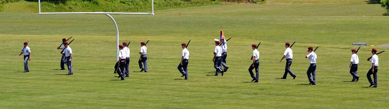 Dillard Guard Parade