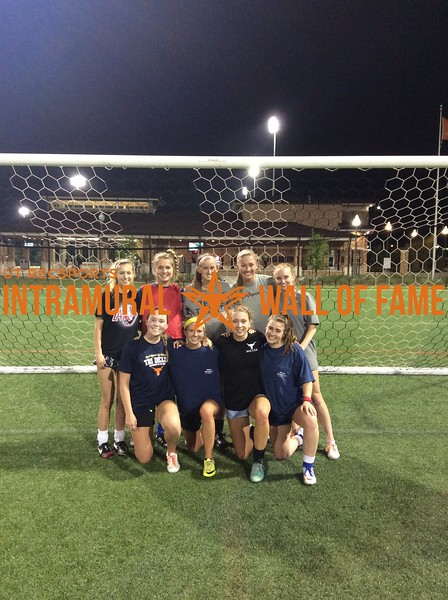 7v7 Spring 2018 Soccer Women's Champion Tri Delta