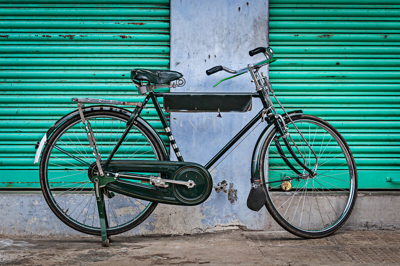 Old Indian bicycle