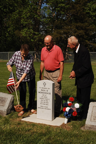 05-21-17 NEWS Dotterer Cemetery New Marker