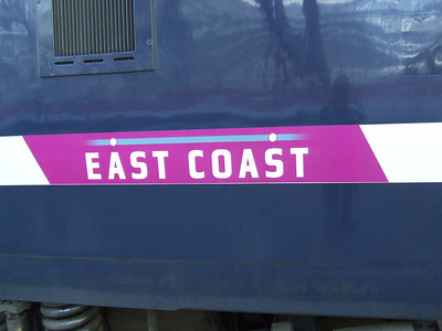 East Coast Railways Livery At Glasgow Central, 14th December 2009
