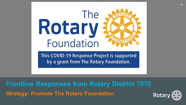 """June 6 Rotary """"Crushes the Curve"""""""